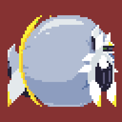 Inflated Arceus In the Form of a Sprite