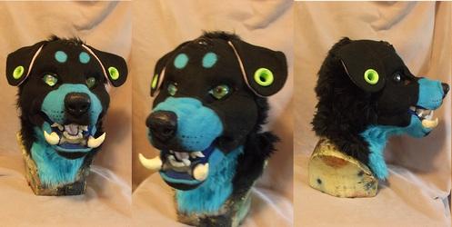 Foo dog head