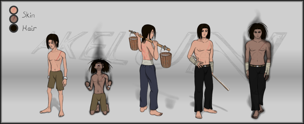 Dern Ryuken - References shirtless