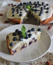 Blueberry Almond Cake