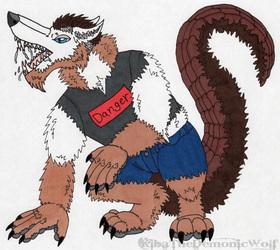 Kiba Werewolf Pangolin