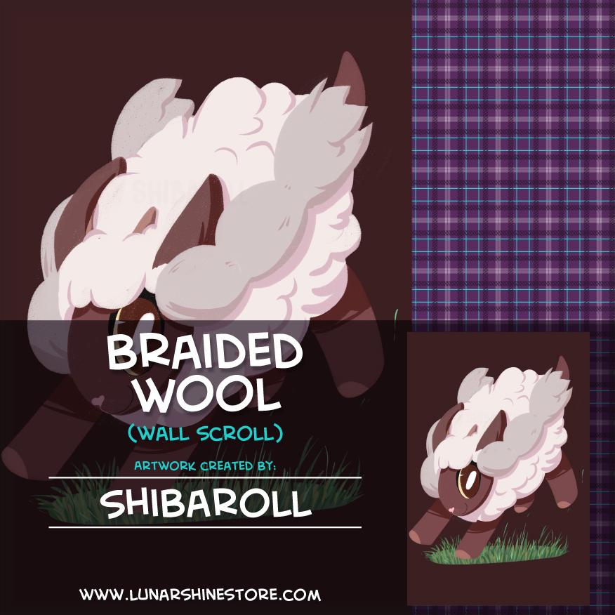 Braided Wool by Shibaroll