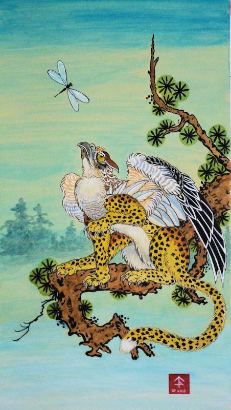 Leopard Hawk Gryffon