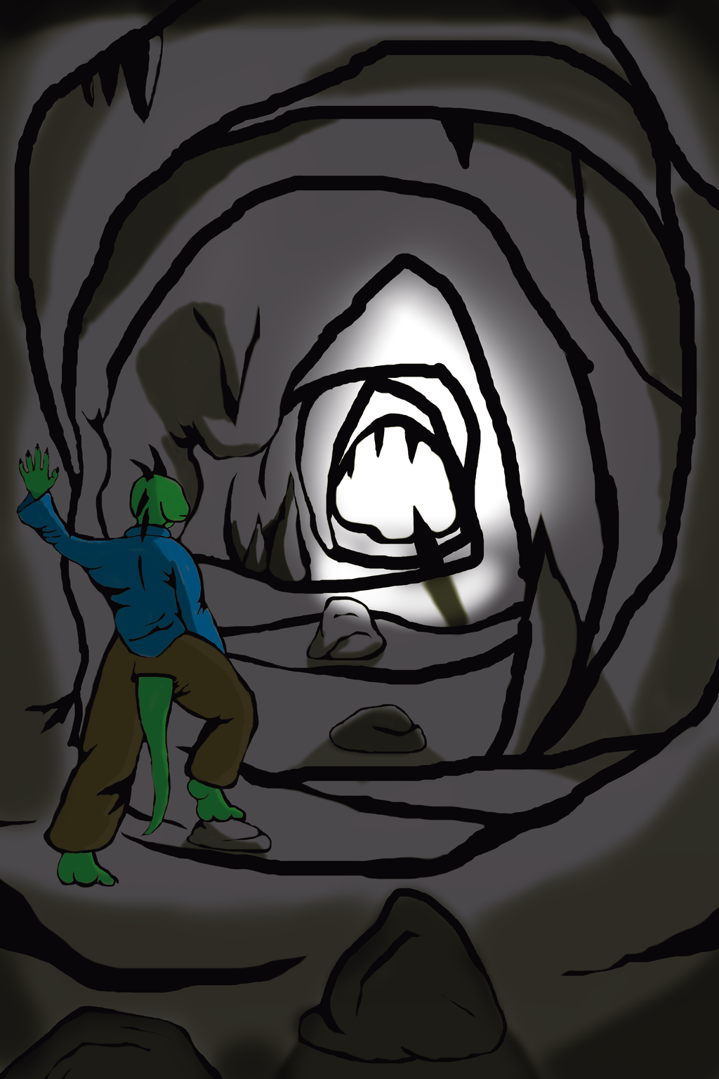 The end of the tunnel (digital experiment series 1)