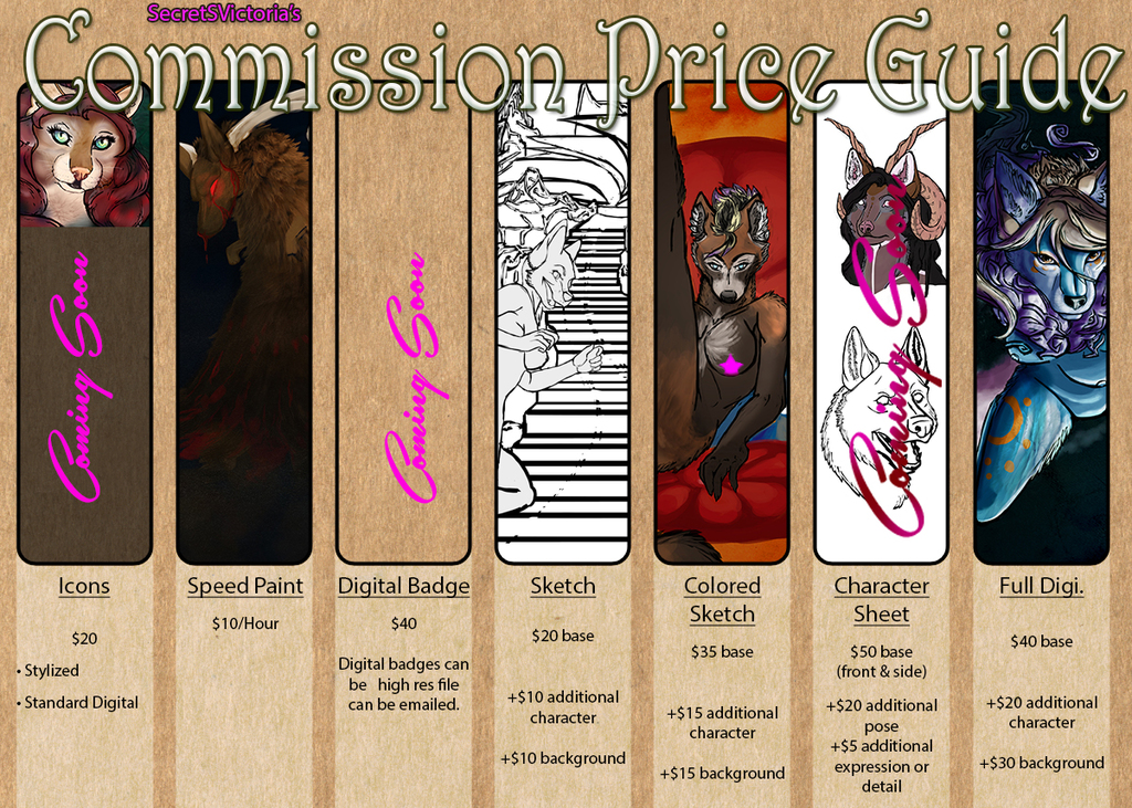 Featured image: Commissions Open
