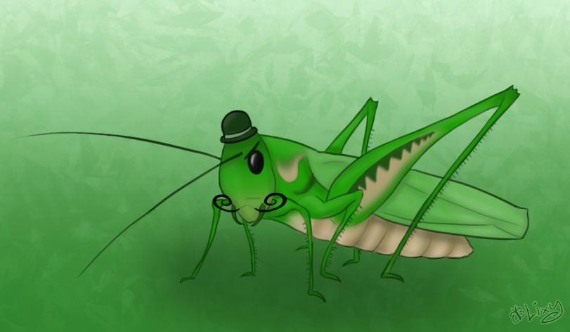 A Singular Malicious Grasshopper