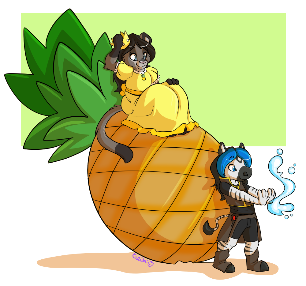 Pineapple Princess and her Guardian