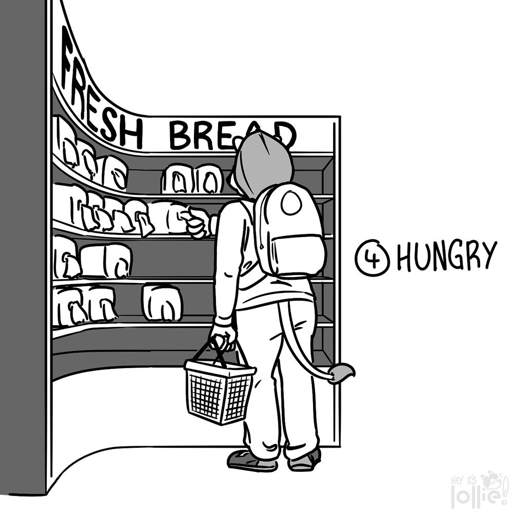 "Inktober 2016 - #4 ""Hungry"""