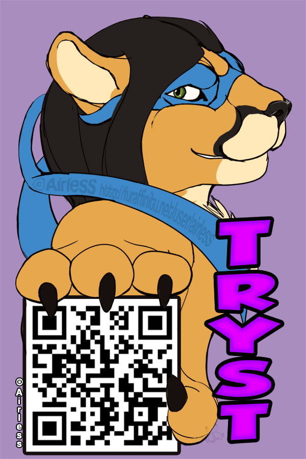 QR Badge: Tryst