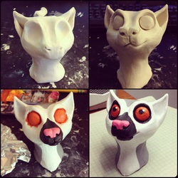 Lani the Lemur [Head Sculpture]