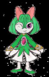 Kirlia: Seedrian-Style