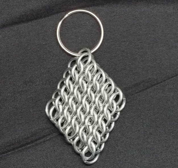 Half Persian Sheet Keychain