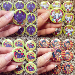 NEW ANIMAL BUTTONS