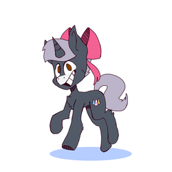 Silver heart (commission)