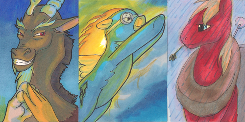 Discord, Spitfire, and Big Mac Art Cards
