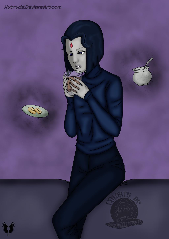 Raven's Tea Time