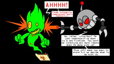 Thorn vs. Chaos Croc, Part 7: Calamitous Compression