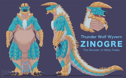 Zinogre Suit - Concept