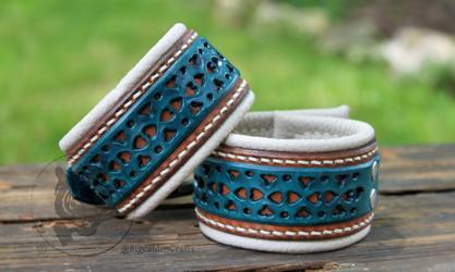 LizTheRodent's Filigree Cuffs