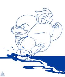 "[Commish] 20 Min Doodle - ""Lifeguard Snorlax"""