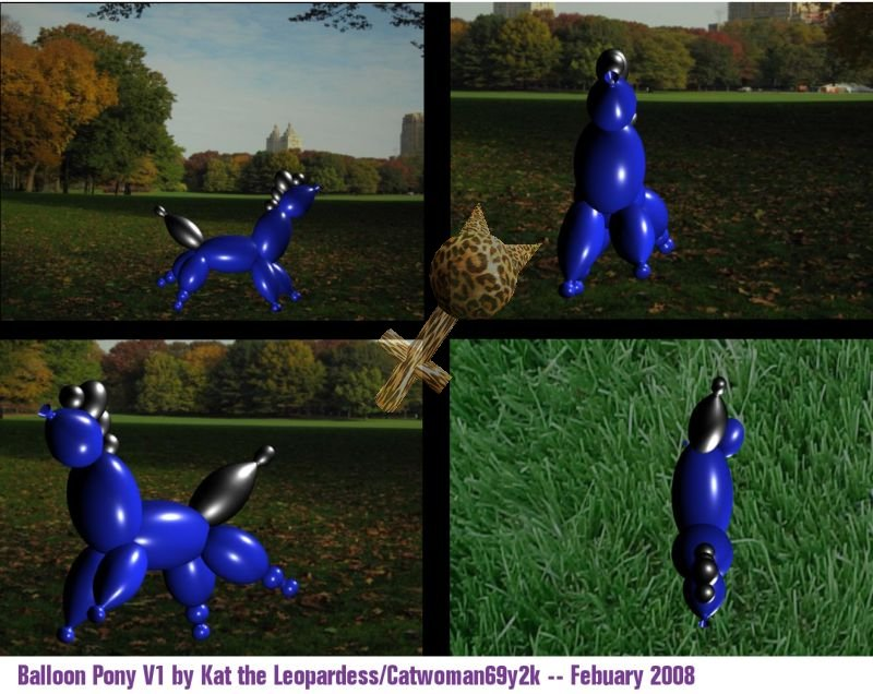 Balloon Pony Version 1