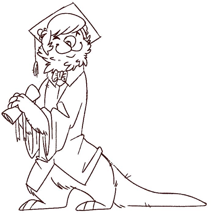 graduation otter