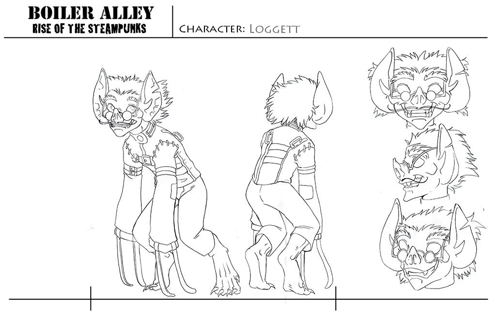 Character Sheet - Loggett