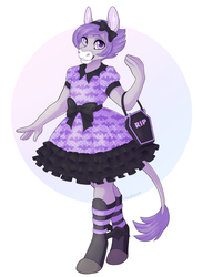 Pastel Goth Lolita - Com