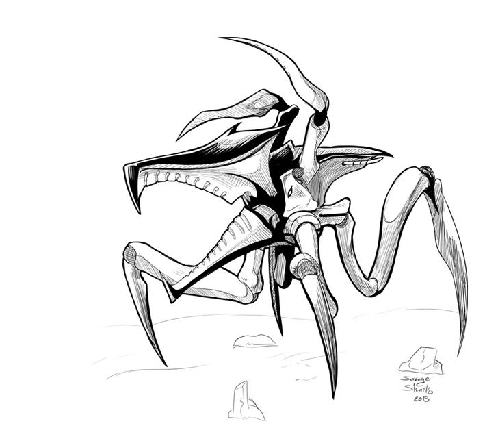 Inktober_day6_Bug