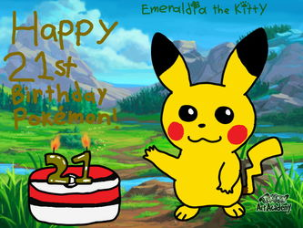 Happy 21st Birthday Pokémon!