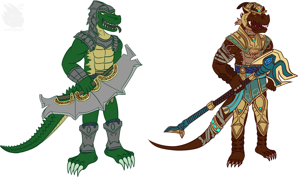 Steiner and Scorch as Renekton and Nasus