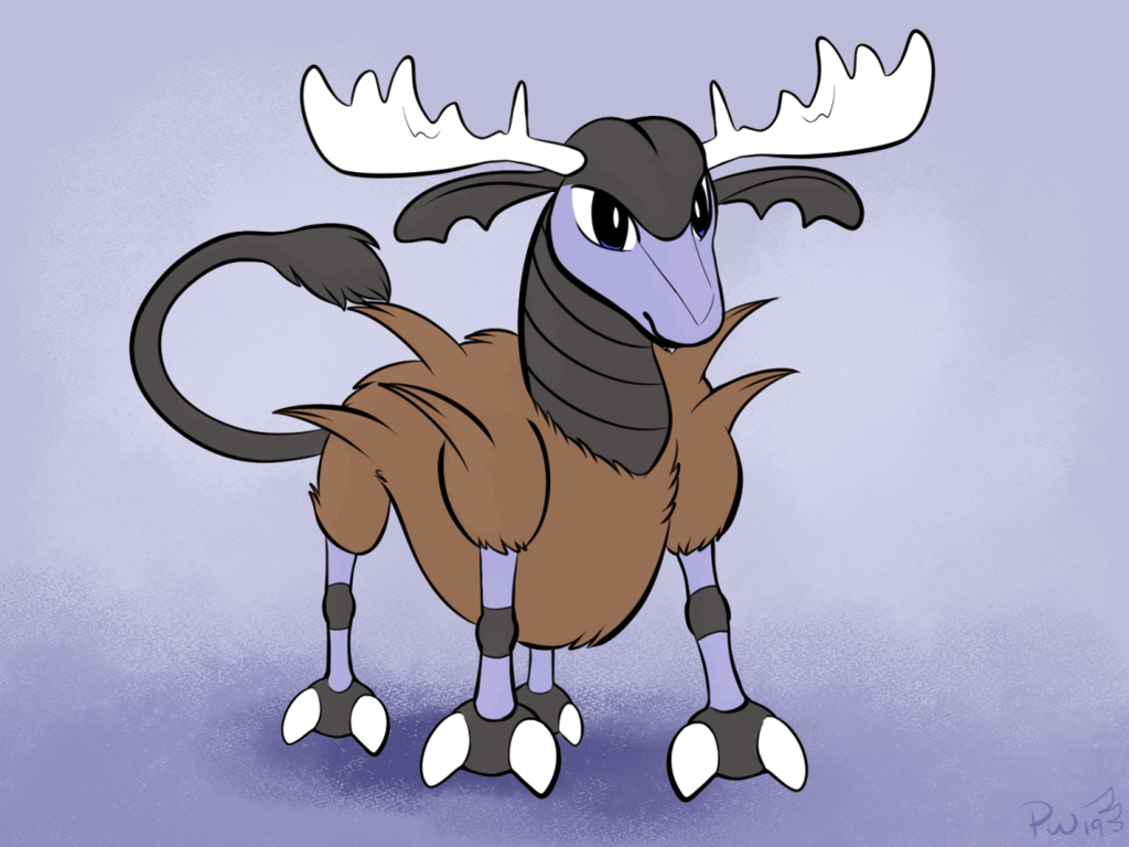 Poketober: Beta deer