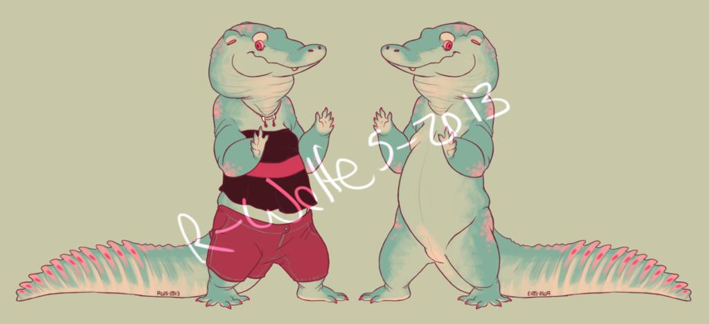 alligator girl [SOLD]