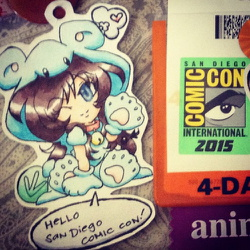 Random: SDCC2015 Badge Art1 -color preview-