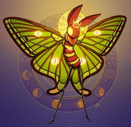 Moth Monarch [Oracle Form]