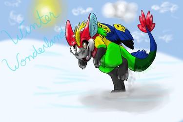 Snow pounce!