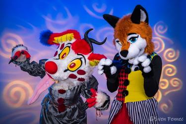 Killer-Clown Couple