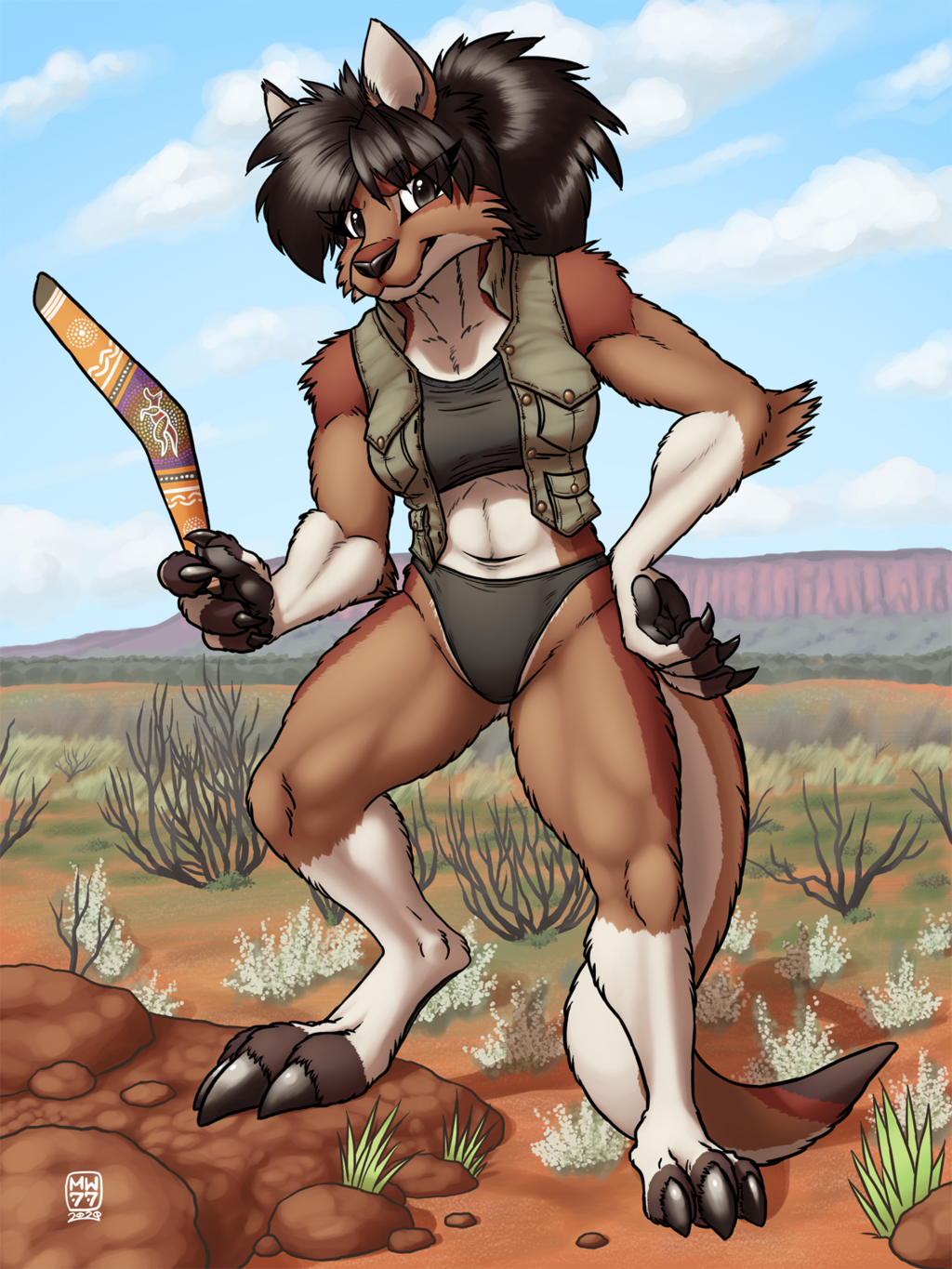 Outback Bounty Huntress