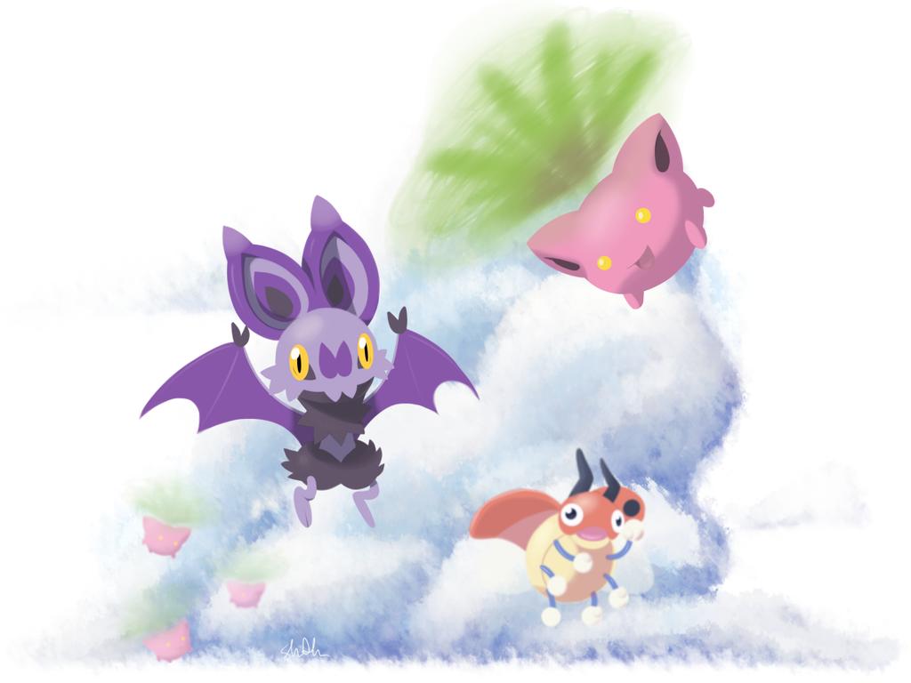 Pokemon Daily 5: Flying