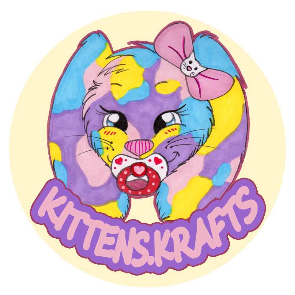 Logo design for Kittens.Krafts