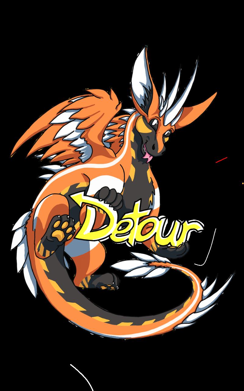 Detour badge