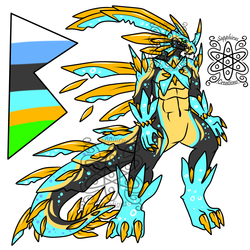 Boiling Crystal Male Dragon +Design+ (SOLD)