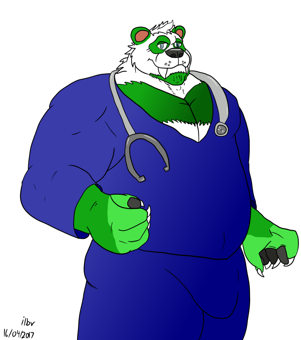 Veterinary Technician Saber Panda