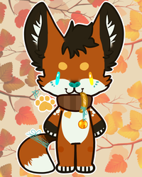 [ADOPT] Autumn fox (OPEN)