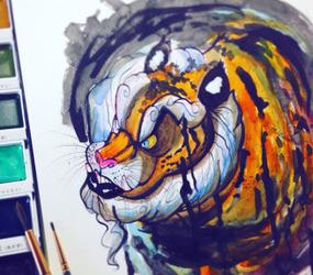 .: Ink Tiger :.