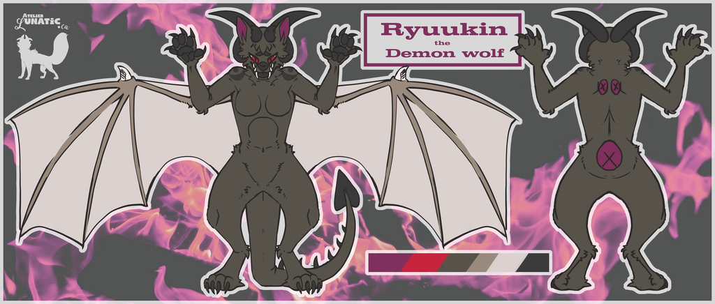 Reference Sheet (alternate colors)