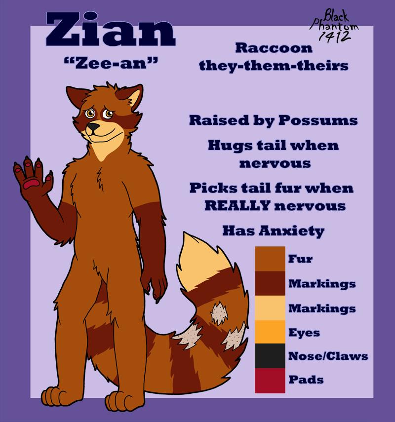 Zian Reference Sheet