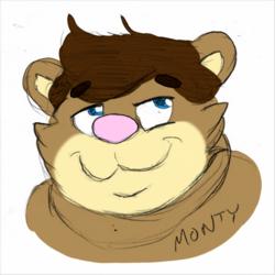 Monty - Face Sketch by Khato
