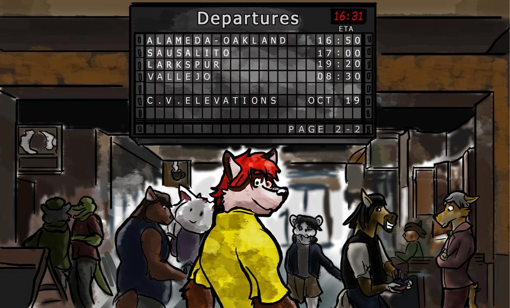 Most recent image: CVE: Departures