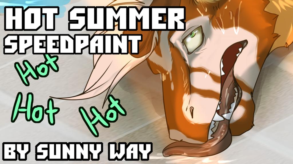 Hot summer - Speedpaint